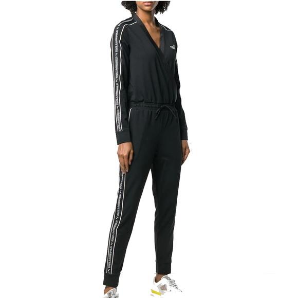 13c39dae96c PUMA x KARL LAGERFELD T7 Jumpsuit Black Size M